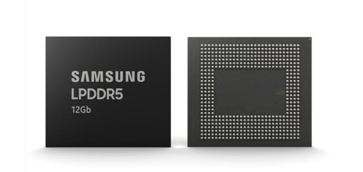 Samsung sektörün ilk 12Gb LPDDR5 mobil bellek üretimine başladı