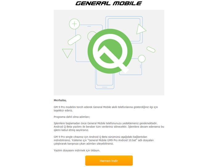 General Mobile GM 9 Pro için Android Q Beta dağıtılmaya başlandı