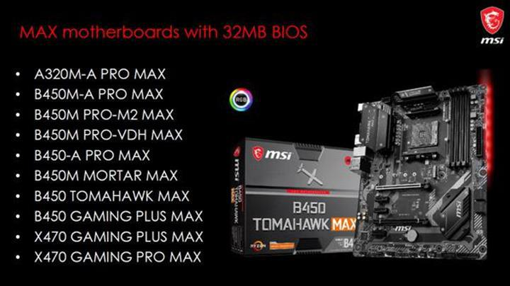 MSI 32 MB EEPROM hafızalı anakartlarını duyurdu