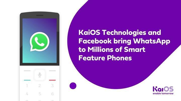 WhatsApp uygulaması KaiOS platformuna geldi
