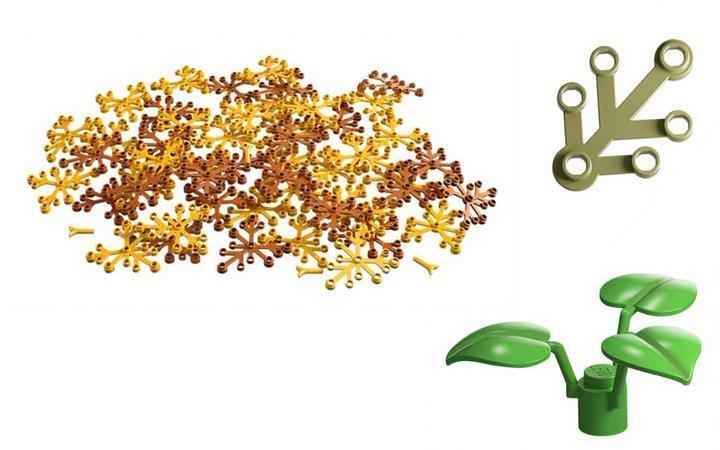 Doğada çözünebilir parçalardan üretilen LEGO Treehouse