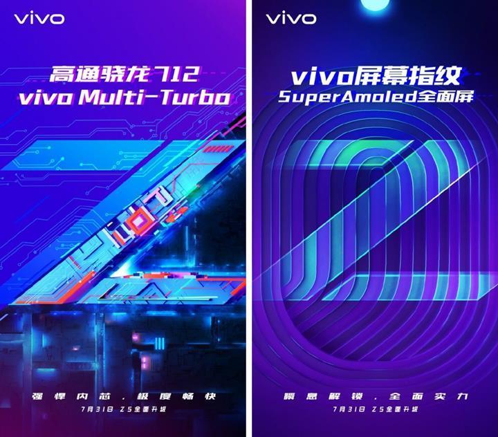 Vivo Z5'in teknik özellikleri resmi olarak açıklandı