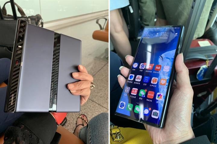 Huawei katlanabilir telefonunun tasarımını güncelledi: İşte Mate X'in son hali