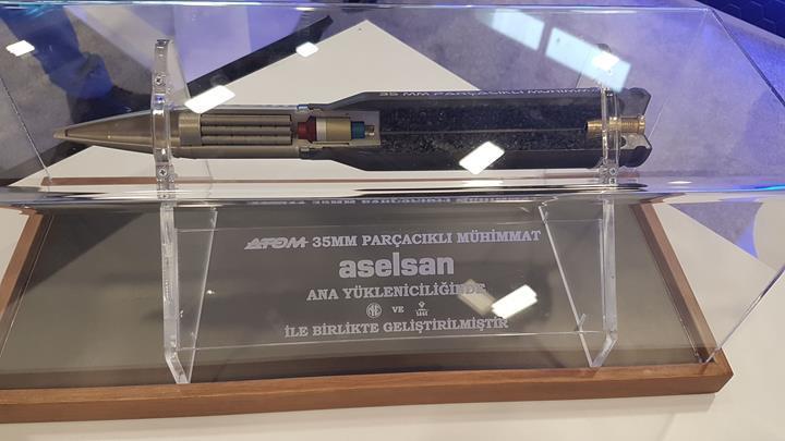 ASELSAN'ın akıllı mühimmatı 'Atom' göreve başlıyor