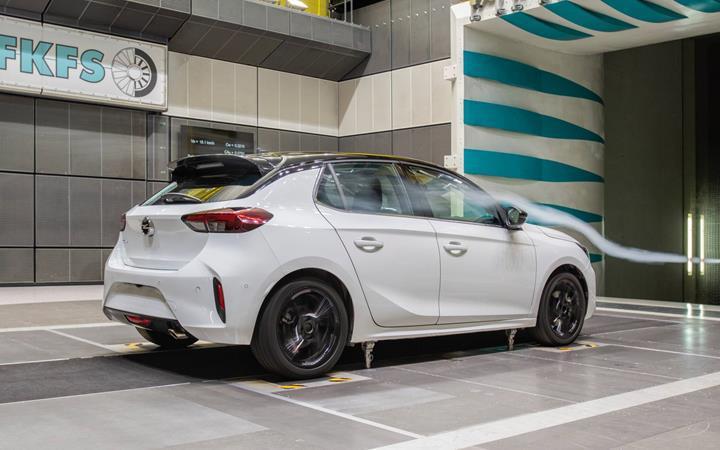 2019 Opel Corsa, aerodinamik konusunda sınıfının öncüsü