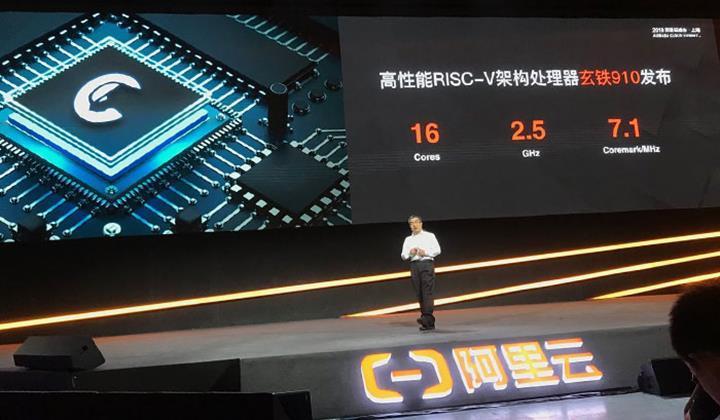 Alibaba RISC-V mimarili 16 çekirdekli işlemcisini tanıttı : %40 daha hızlı