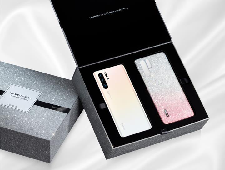 Huawei P30 Pro'nun kristal süslemeli kılıfla gelen özel bir versiyonu çıktı