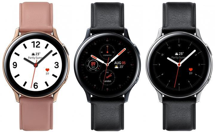 Samsung Galaxy Watch Active 2'nin yeni görselleri ortaya çıktı