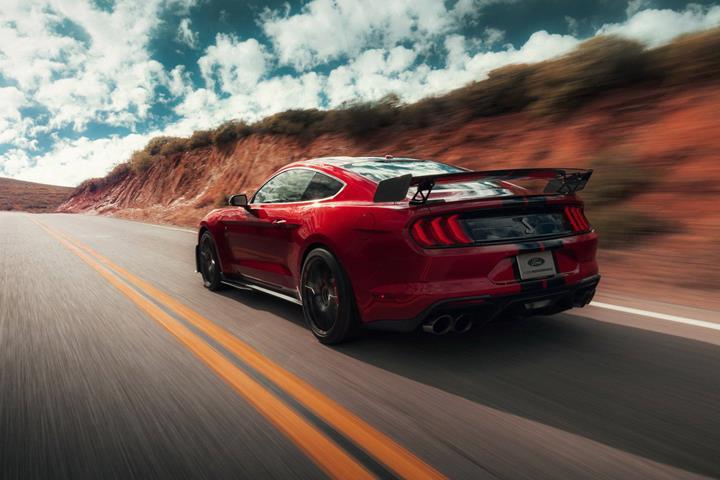 2020 Mustang Shelby GT500, 10.6 saniyelik 0-160-0 skoruyla gündemde