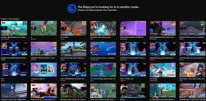 Ninja'nın boşluğunu Twitch ilginç bir şekilde doldurdu