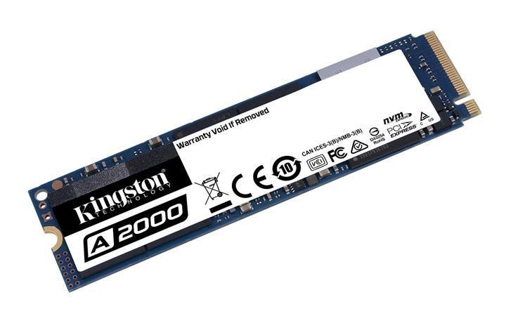 Kingston performans odaklı A2000 PCIe NVMe SSD modelini satışa sundu