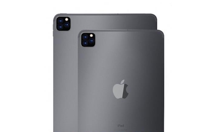 iPad Pro da üçlü arka kamerayla güncellenebilir