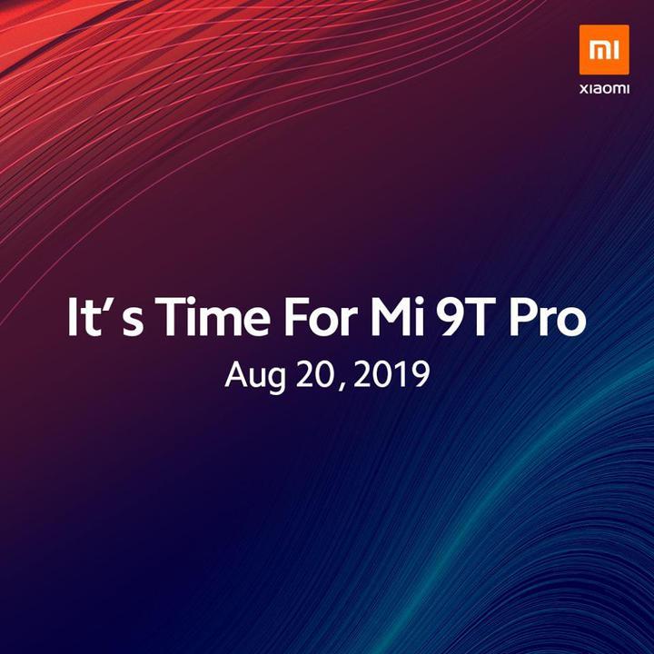 Xiaomi Mi 9T Pro 20 Ağustos tarihinde Avrupa için tanıtılacak