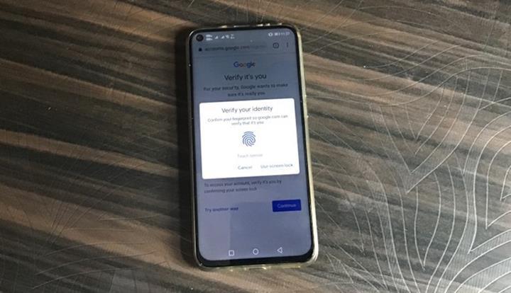 Chrome tarayıcısına parmak iziyle kimlik doğrulama desteği geliyor