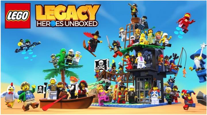 LEGO Legacy: Heroes Unboxed ön kayıtlara başladı