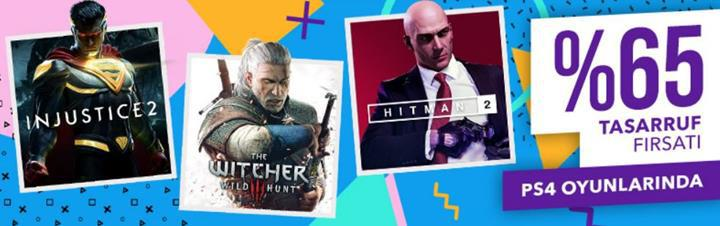 PlayStation Store'da %65 e varan indirimler fırsatı