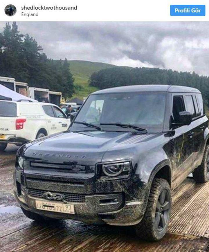 2020 Land Rover Defender'ın Tasarımı Ortaya çıktı