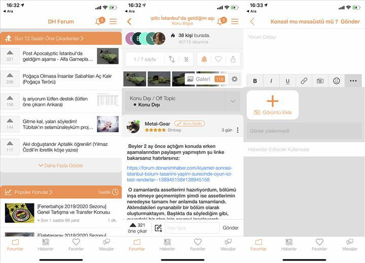 DH iOS uygulamasının yeni sürümü AppStore'da yerini aldı