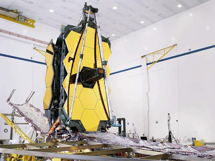 James Webb Uzay Teleskobu önemli bir kilometre taşını geride bıraktı
