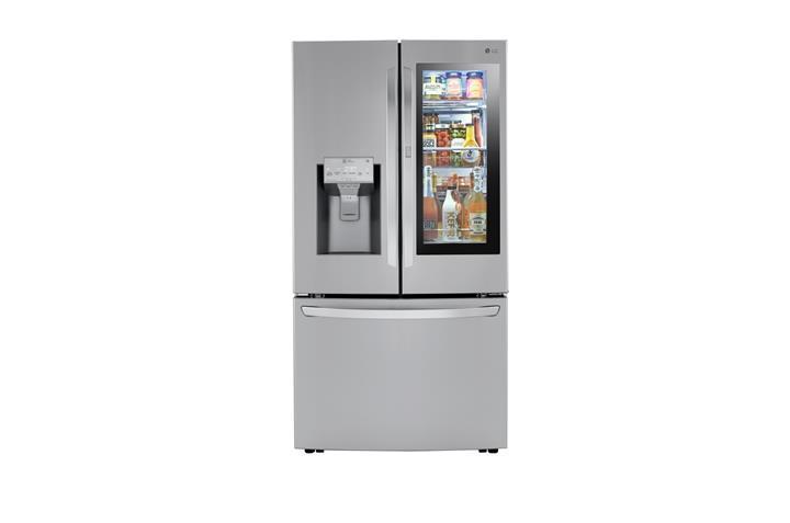 LG'den yuvarlak buz yapabilen akıllı buzdolabı