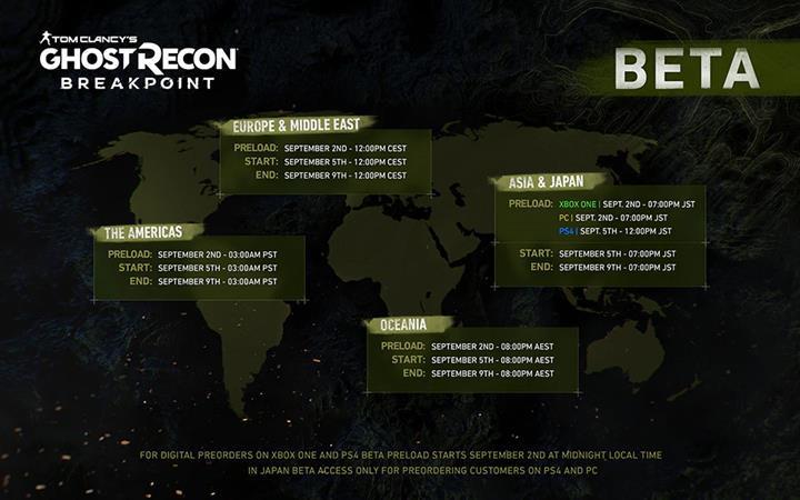 Ghost Recon Breakpoint betası ile ilgili detaylar paylaşıldı
