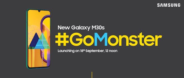Samsung Galaxy M30s için geri sayım başladı