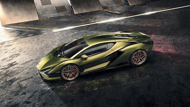 Gelmiş geçmiş en güçlü Lamborghini tanıtıldı: İşte hibrit motorlu süper otomobil Sian