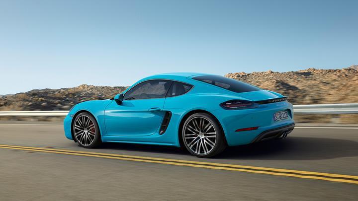 Yeni nesil Porsche 718 Cayman tamamen elektrikli olabilir