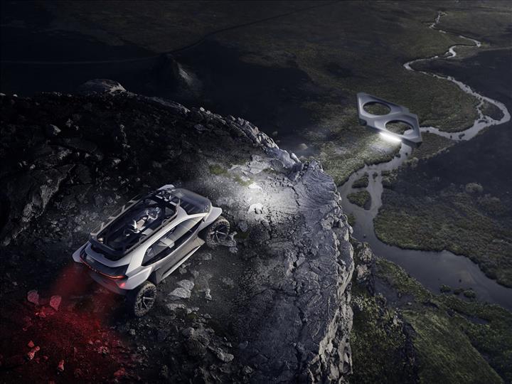 Audi'den sıra dışı konsept: AI:Trail quattro