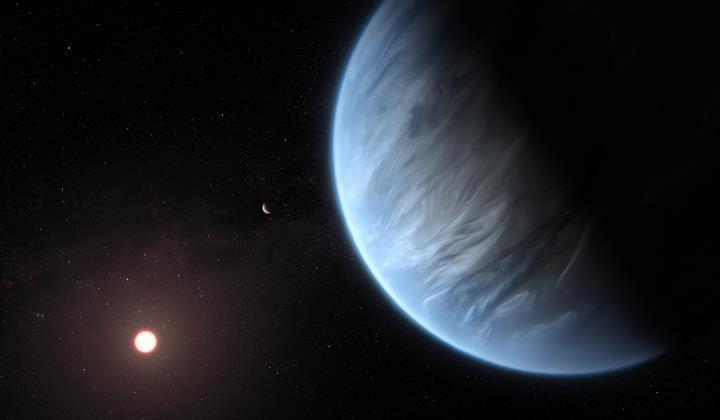 110 ışık yılı uzaklıktaki gezegenin atmosferinde 'su buharı' keşfedildi