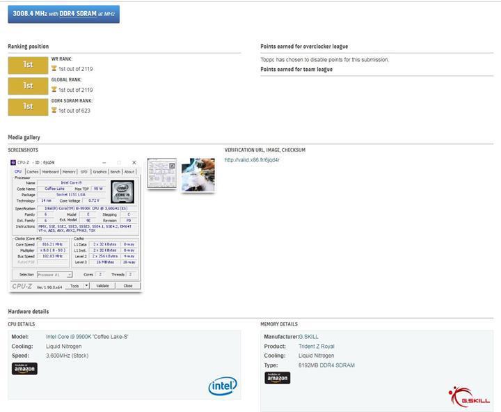 DDR4 belleklerde 6GHz sınırı geçildi
