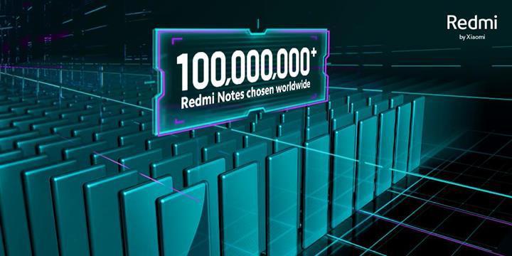 Xiaomi'den yeni rekor: Redmi Note serisi telefon satışları 100 milyonu aştı