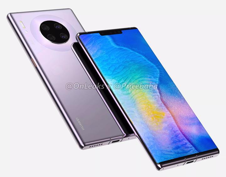 Huawei Mate 30 Pro'nun yeni bir görüntüsü ortaya çıktı