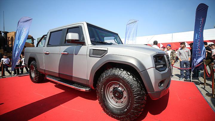 BMC'nin yeni pickup modeli Teknofest İstanbul'da: İşte tasarımı ve özellikleri