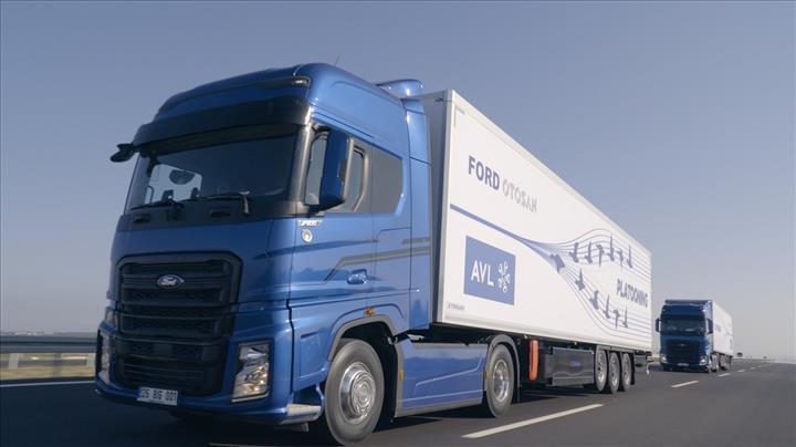 Ford Otosan ve AVL'nin otonom konvoy projesi başarıyla test edildi
