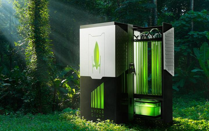 Havadaki CO2'yi yakalamak için su yosunu kullanılan reaktör geliştirildi
