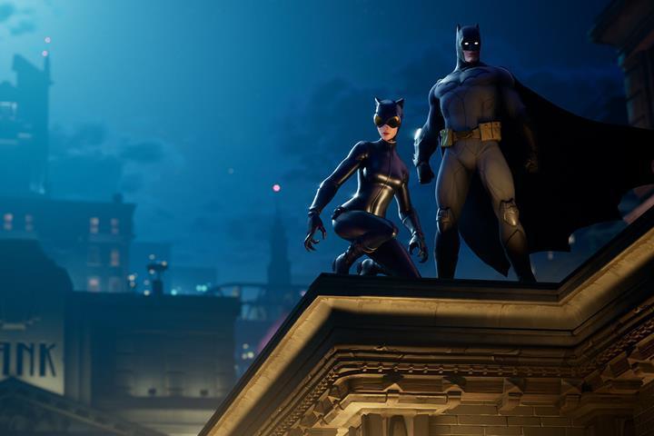 Fortnite oyununda Batman etkinliği