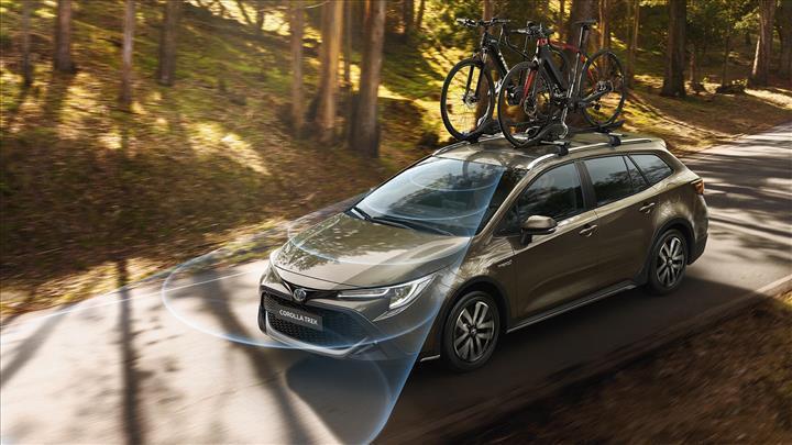Bisiklet ve doğa tutkunları için tasarlandı: İşte yeni Toyota Corolla Trek