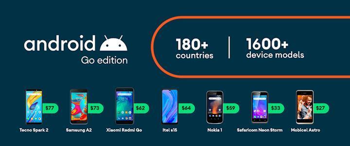 Android 10 Go, hafif işletim sistemini daha güvenli ve hızlı hâle getiriyor