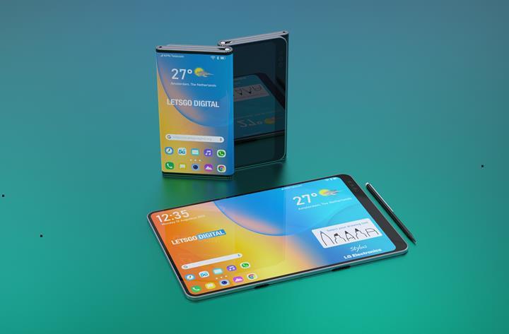 Stylus kalemli Huawei Mate X 2'nin tasarımı ortaya çıktı
