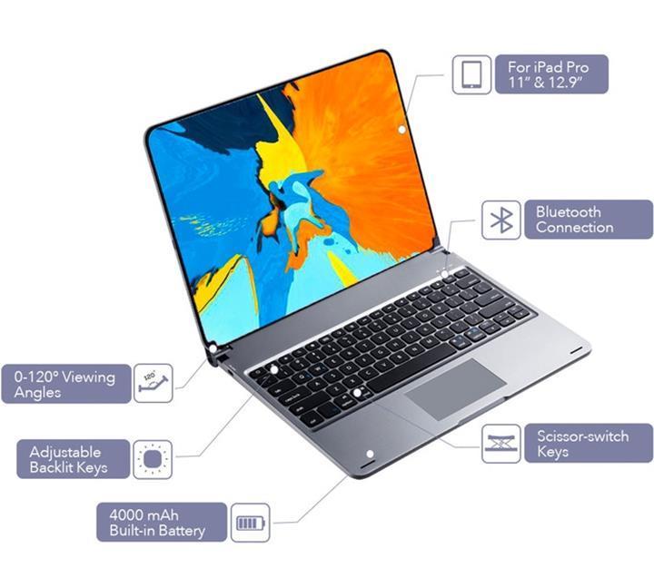 iPad Pro'yu MacBook Pro'ya dönüştüren klavye Libra, RGB ışıklandırmayla geliyor