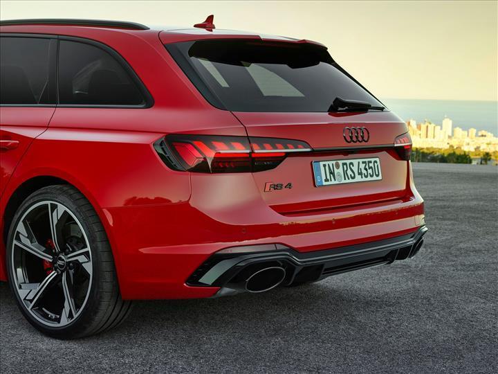 Makyajlı 2020 Audi RS4 Avant tanıtıldı: İşte tasarımı ve özellikleri