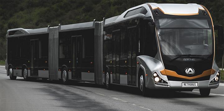 İBB'den daha fazla yolcu taşıyabilen yerli metrobüs hamlesi