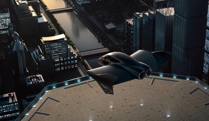 Porsche ve Boeing, uçan elektrikli araç geliştirmek için ortak çalışacaklar