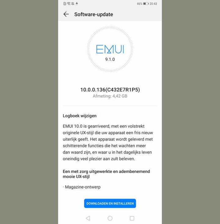 Huawei Mate 20 Pro, Android 10 güncellemesi aldı