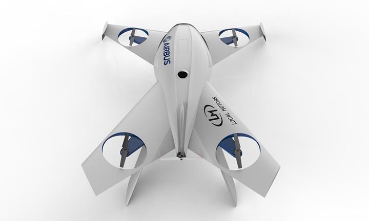 Havacılık devi Airbus, üç boyutlu baskı yöntemiyle dron ve otonom araç üretecek
