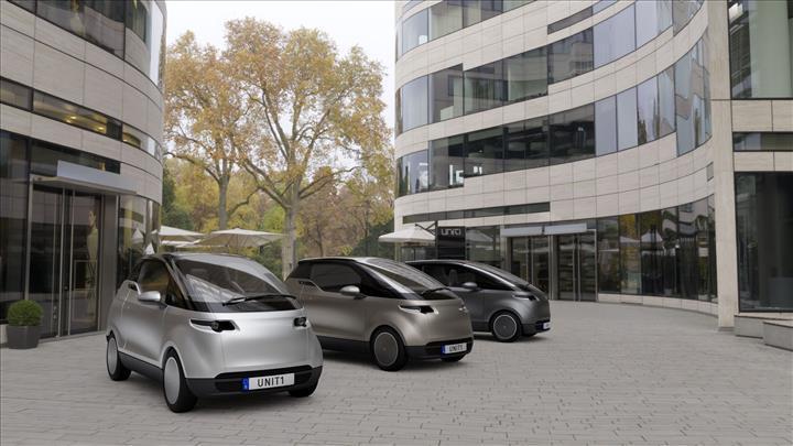 20 bin euro'ya 300 km menzilli küçük şehir aracı: Uniti One
