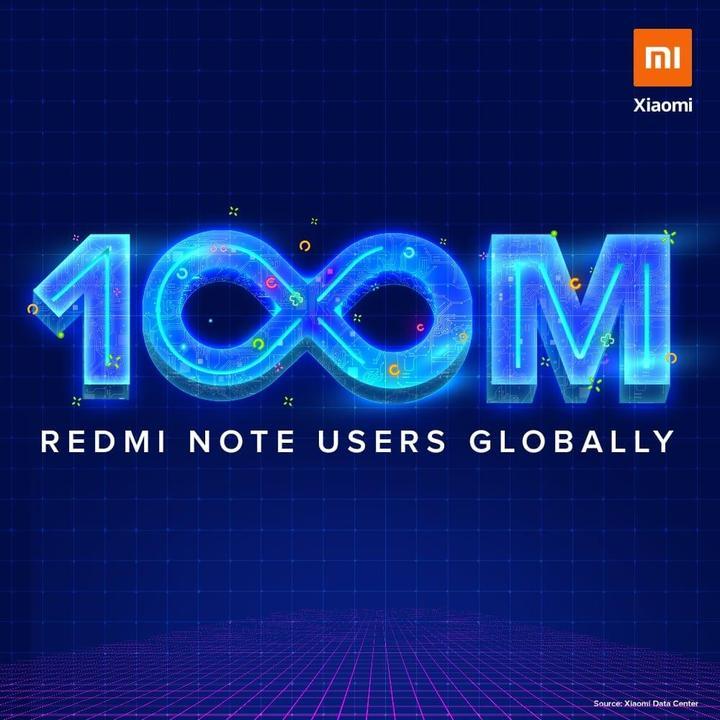 Xiaomi, 100 milyon Redmi Note modeli sattığını duyurdu
