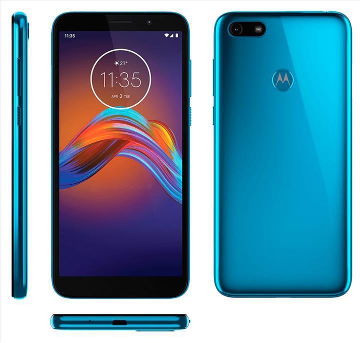 Motorola Moto E6 Play'in render görüntüleri ortaya çıktı