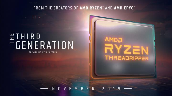 Ryzen Threadripper 3990X gelecek yıla kaldı